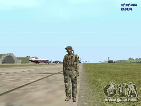 Alfa Antiterrorismo para GTA San Andreas novena de pantalla