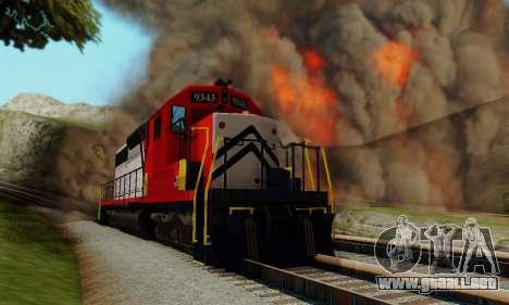 GTA V Trem para la visión correcta GTA San Andreas