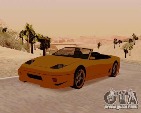 Super GT Convertible para GTA San Andreas
