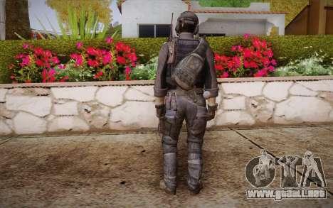 Kick из de Call of Duty: Ghosts para GTA San Andreas segunda pantalla