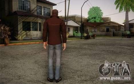 Dean Winchester para GTA San Andreas segunda pantalla