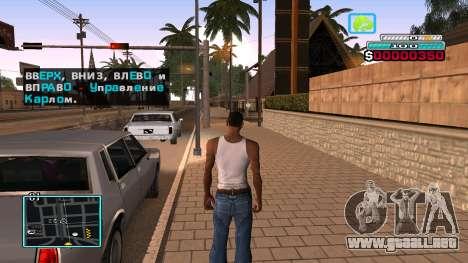 C-HUD Hast para GTA San Andreas