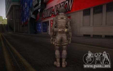 U.S. Secret Service Operative para GTA San Andreas segunda pantalla