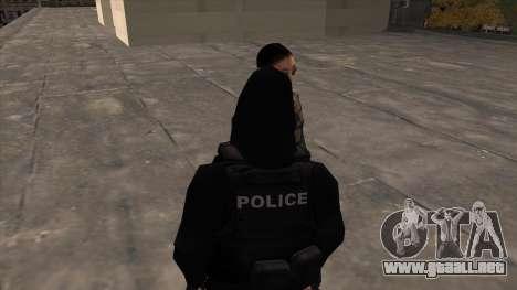 Special Weapons and Tactics Officer Version 4.0 para GTA San Andreas segunda pantalla
