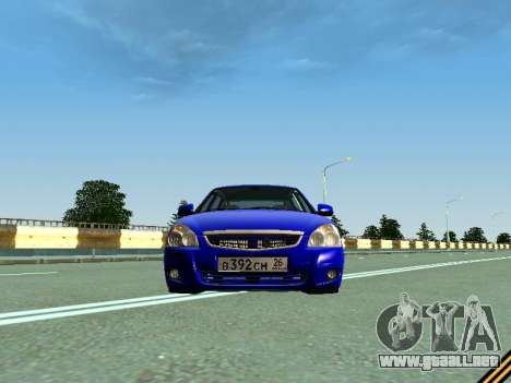 VAZ 2172 para visión interna GTA San Andreas