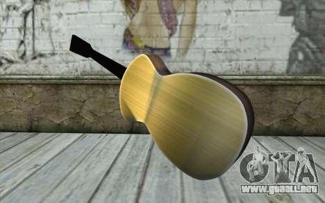 Acoustic Guitar para GTA San Andreas segunda pantalla