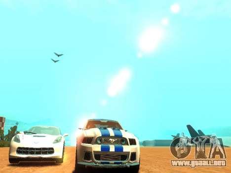 ENBSeries Realistic Beta v2.0 para GTA San Andreas sexta pantalla