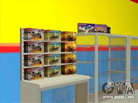 La tienda de LEGO para GTA San Andreas segunda pantalla