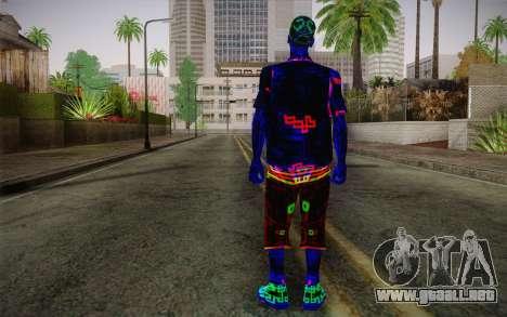 Zero VirusStyle Skin para GTA San Andreas segunda pantalla