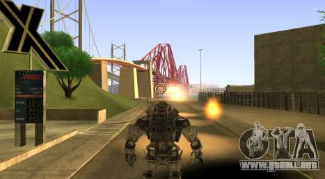 TitanFall Atlas para GTA San Andreas sexta pantalla