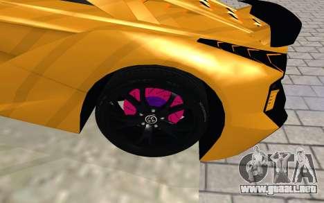 GTA 5 Zentorno para la visión correcta GTA San Andreas