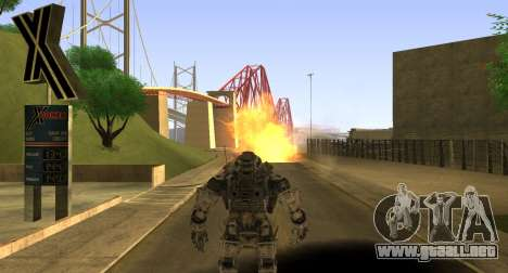 TitanFall Atlas para GTA San Andreas séptima pantalla