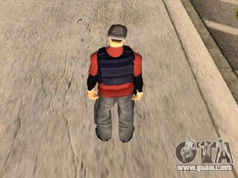 Special Weapons and Tactics Officer Version 4.0 para GTA San Andreas octavo de pantalla
