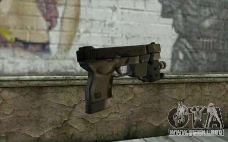 Glock 33 Advance para GTA San Andreas segunda pantalla
