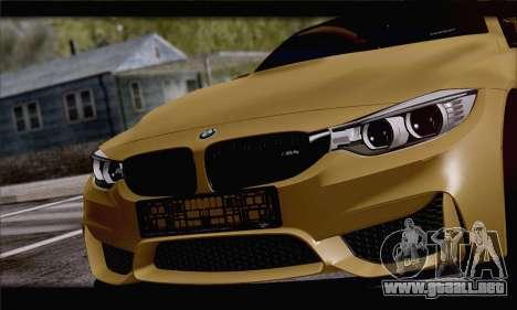 BMW M4 F80 Stanced para la visión correcta GTA San Andreas