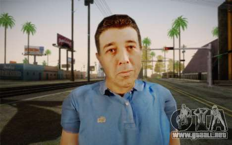 Un hombre de edad avanzada para GTA San Andreas tercera pantalla