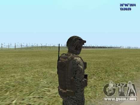Alfa Antiterrorismo para GTA San Andreas quinta pantalla
