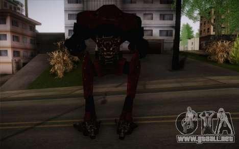 Bio-Mechanoid из SS3 para GTA San Andreas segunda pantalla