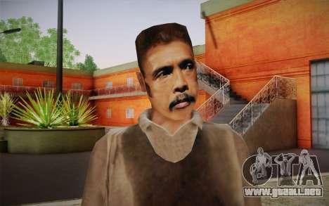 Maddog Piel из El Raid para GTA San Andreas tercera pantalla