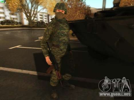 Bombardero de la moderna Ejército ruso para GTA San Andreas tercera pantalla