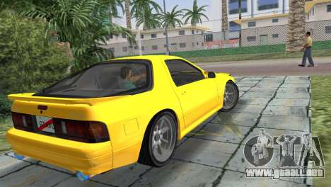 Mazda Savanna RX-7 III (FC3S) para GTA Vice City left