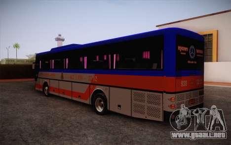 Mercedes-Benz Argentina Thailand Bus para GTA San Andreas left