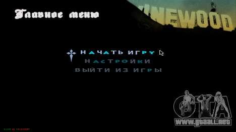 C-HUD Hast para GTA San Andreas segunda pantalla