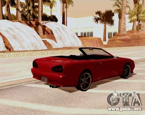 Elegía Convertible para GTA San Andreas left