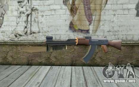 AK47 con una bayoneta para GTA San Andreas