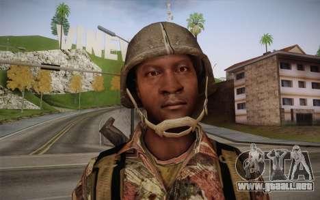 U.S. Soldier v3 para GTA San Andreas tercera pantalla