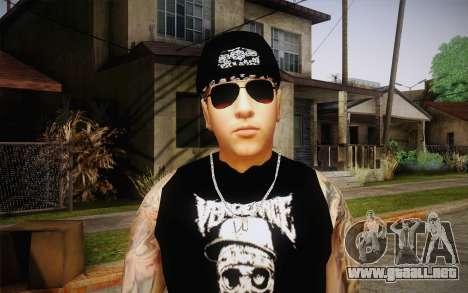 M. Shadows Skin para GTA San Andreas