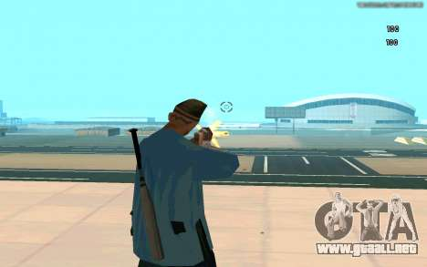 Visión eterna para GTA San Andreas sucesivamente de pantalla
