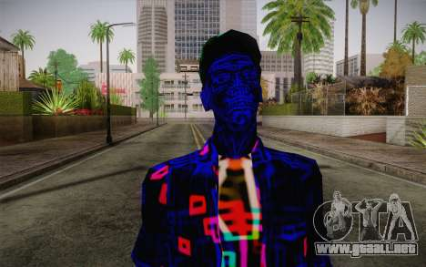 Zero VirusStyle Skin para GTA San Andreas tercera pantalla