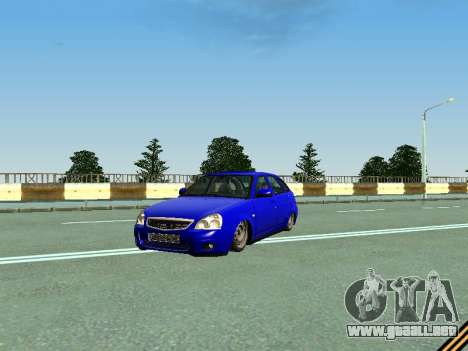 VAZ 2172 para la vista superior GTA San Andreas