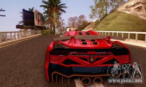 Pegassi Zentorno GTA 5 v2 para visión interna GTA San Andreas