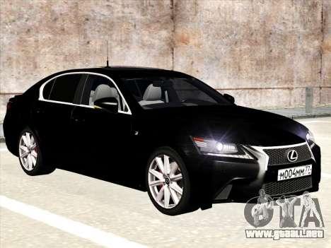 Lexus GS350F Sport para GTA San Andreas