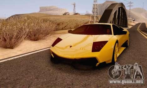 Lamborghini Murcielago LP670-4 SV para GTA San Andreas left
