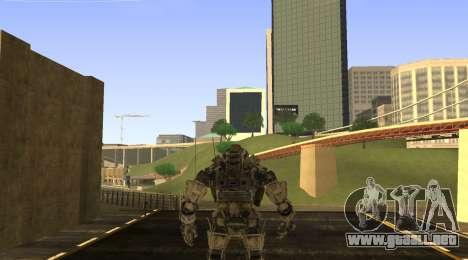 TitanFall Atlas para GTA San Andreas segunda pantalla