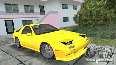 Mazda Savanna RX-7 III (FC3S) para GTA Vice City