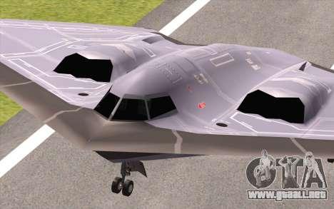B-2 Spirit para la visión correcta GTA San Andreas