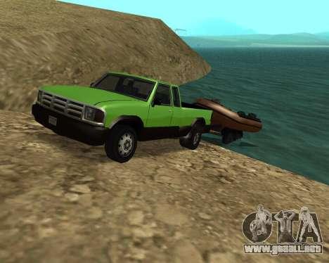 Recogida Nuevo para GTA San Andreas interior