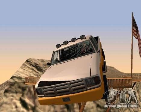 Recogida Nuevo para vista inferior GTA San Andreas