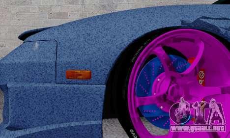 Nissan 240SX para vista inferior GTA San Andreas