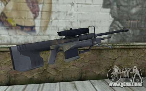 Sniper Rifle from Halo 3 para GTA San Andreas segunda pantalla