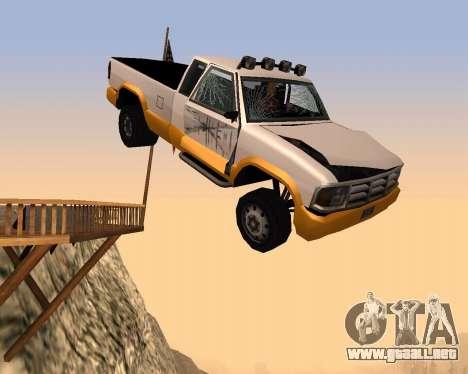 Recogida Nuevo para vista lateral GTA San Andreas