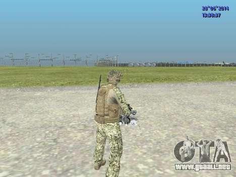 Alfa Antiterrorismo para GTA San Andreas séptima pantalla