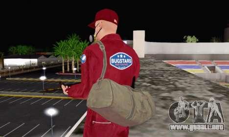 Bug Star Robbery para GTA San Andreas sucesivamente de pantalla