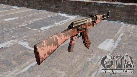 El AK-47 tigre Rojo para GTA 4 segundos de pantalla