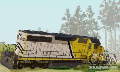 GTA V Trem 2 para GTA San Andreas left