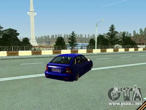VAZ 2172 para la visión correcta GTA San Andreas